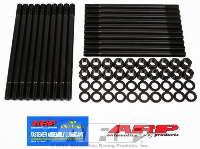 ARP - ARP1454001 - ARP Head Stud Kit- Chrysler 392 Factory Hemi - , Edelbrock Rpm - 6 Point Nuts