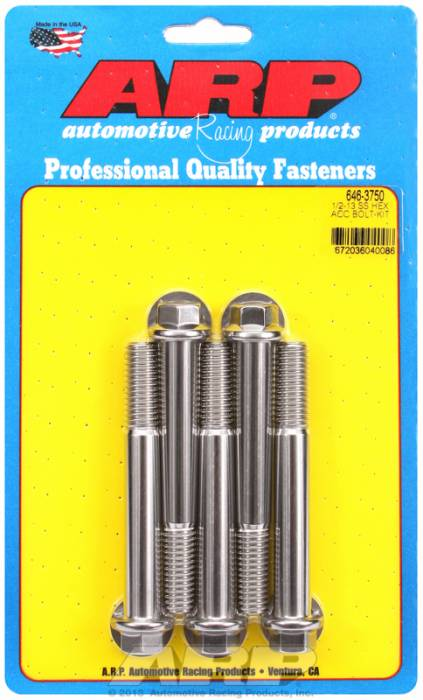 ARP - ARP6463750 - HEX SS BOLTS