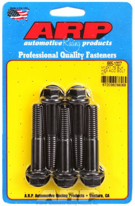 ARP - ARP6651007 - Hex Blk Oxide Bolts