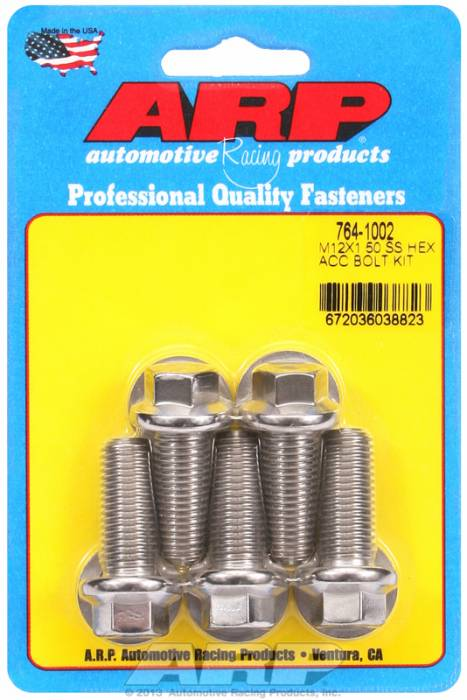 ARP - ARP7641002 - HEX SS BOLTS