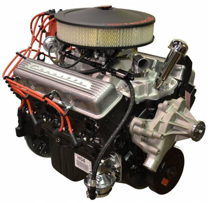 PACE Performance - GMP-12499529-CX - Pace SBC 350/290HP Crate Engine with Retro-Style Corvette Package