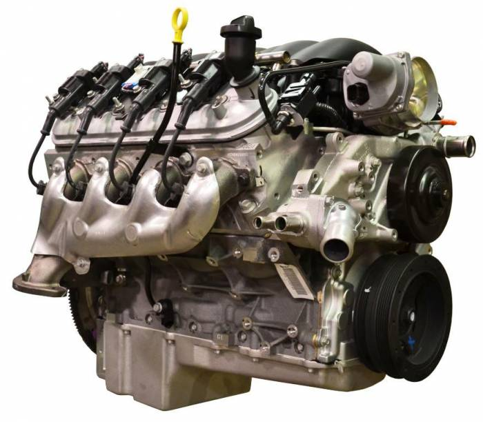 PACE Performance - GMP-19301326-PX Pace Prepped & Primed LS3  430HP  Engine with Installed Holley Swap Oil Pan