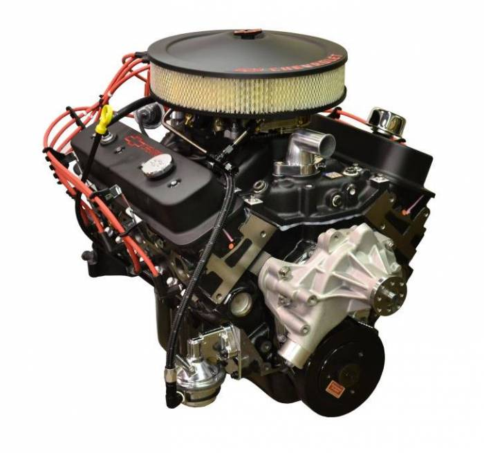 PACE Performance - GMP-19210007-2X - Pace SBC 350CID 330 HP Turnkey Crate Engine with Black Finish
