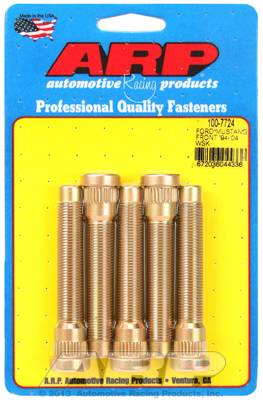 ARP - ARP1007724 - 1994-04 Ford Mustang Front Wheel Stud, 1/2-20, .595 Knurl Dia., 3.110 UHL, .300 Knurl Length, .300 Nose Length