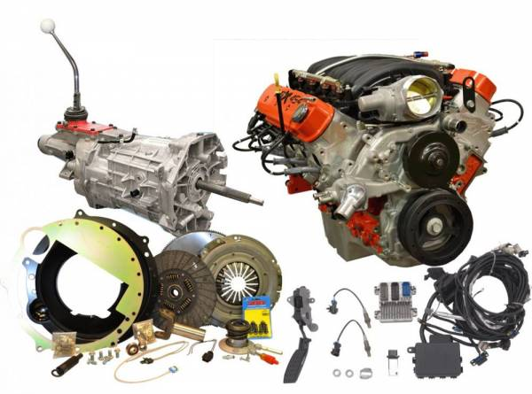 GM LSx Engine & Transmission Combo Packages