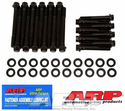 ARP - ARP1203601 - ARP Head Bolt Kit, Buick 350, High Performance Series, Hex Head, Black