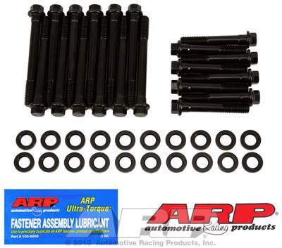 ARP - ARP1203601 - ARP Head Bolt Kit, Buick 350, High Performance Series, Hex Head, Black