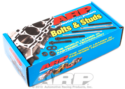 "ARP - ARP1341202 - ARP Header Bolt Kit - SBC/LS Series, 3/8"" wide header flange - M8- 1.181"" UHL, Black Oxide, 12-Point Head, Qty. - 12"