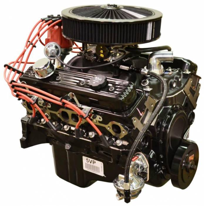 PACE Performance - GMP-T567353-V2 - Pace SBC 350 350HP Black Trim Turnkey Engine with T56 6 Speed Trans Package