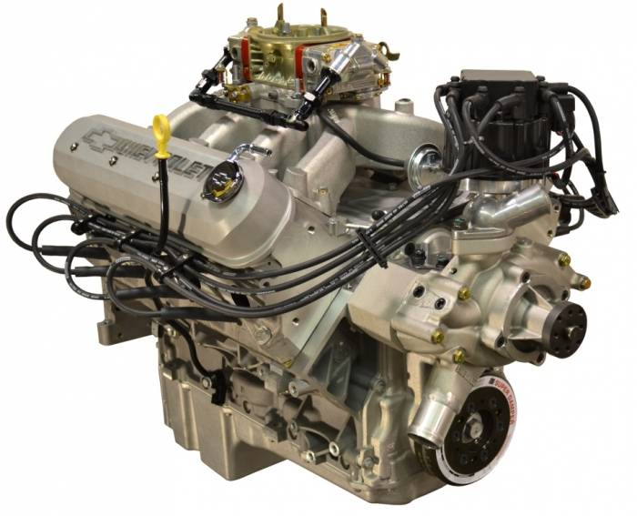 PACE Performance - GMP-19301360-CX - Pace LS3 550HP Carbureted  with HEI & As Cast Valve Covers