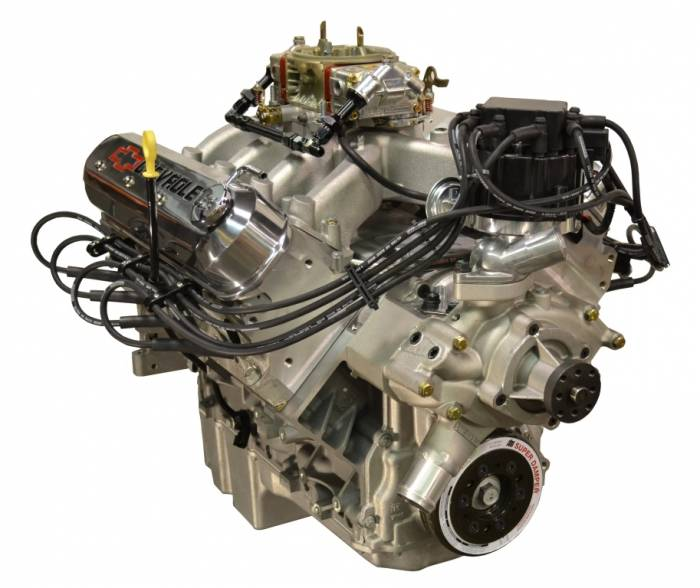 PACE Performance - GMP-19301360-C3X - Pace LS3 550HP Carbureted  with HEI & Polished Valve Covers