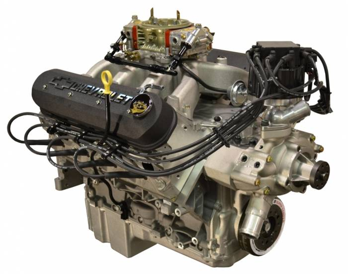 PACE Performance - GMP-19301360-C2X - Pace LS3 550HP Carbureted  with HEI & Black Valve Covers