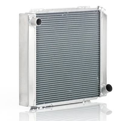 "Be Cool Radiator - BCI35010 - Be Cool Qualifier Series Ford/Mopar Universal Race Radiator, 300HP, Standard Transmission, 28""W x 17""H x 3"" D"