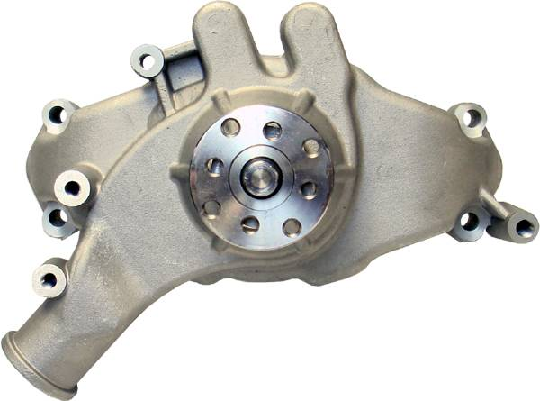 Proform - 68241 - High Flow Aluminum Mechanical Water Pump, Chevy Big Block, Satin, Long