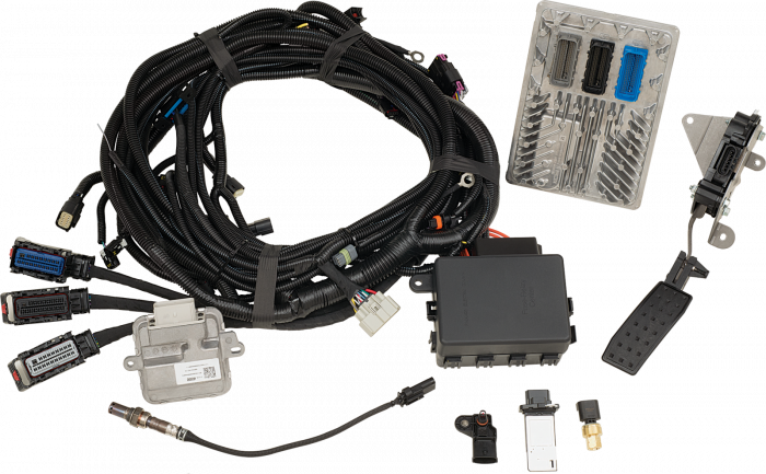 Chevrolet Performance Parts - 19328839 - CPP LTG RWD Controller Kit  - Contains Pre-Programmed ECU, Harness, Sensors
