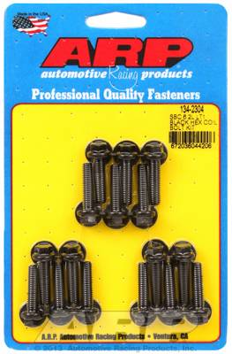 ARP - ARP1342304 - Chevrolet LT1 6.2L small block, Hex, Black Oxide, Coil Bracket Bolt Kit