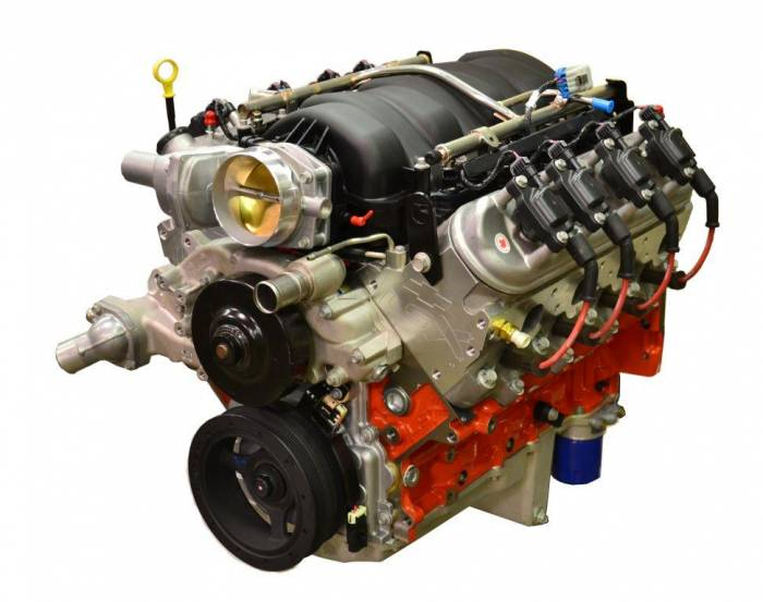 PACE Performance - GMP-19260833-7FIA - Pace Exclusive LSX 454 585HP with LS7 EFI Crate Engine