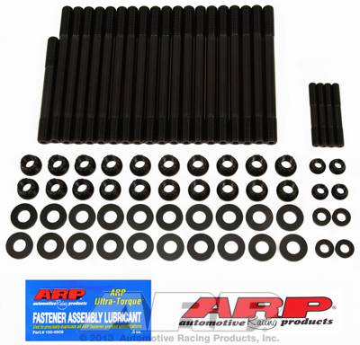 ARP - ARP2344343 - Chevrolet Gen V LT1 6.2L small block, w/ M8 Corner Studs Head Stud Kit, 12 Point Nuts