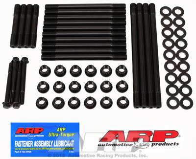 ARP - ARP2474206 - Dodge Cummins 3.9L 4BT Diesel, ARP2000, Black Oxide Head Stud Kit, 12 Point Nuts