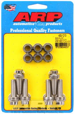 ARP - ARP4001213 - Exhaust Collector Bolt Kit, 0.475-0.600 flange
