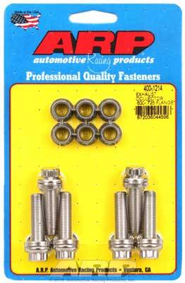 ARP - ARP4001214 - Exhaust Collector Bolt Kit, 0.600-0.725 Flange