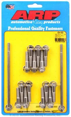 ARP - ARP4341806 - Chevrolet Gen V LT1 6.2L Small Block Oil Pan Bolt Kit, Hex, Stainless Steel