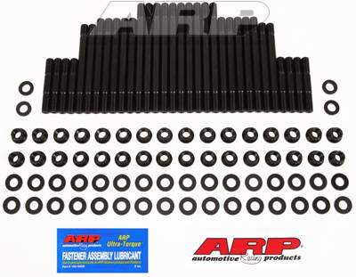 ARP - ARP2354324 - ARP Cylinder Head Studs, Dart Pro 1 440 heads- 1.000 coarse thread w/ aftermarket dry deck block, Hex Nuts, U/C Studs