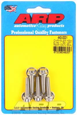 ARP - ARP4400001 - ARP Rear Motor Cover Bolt Kit, Chrysler Hemi 5.7/6.1L, Stainless Steel, 12 Point Head