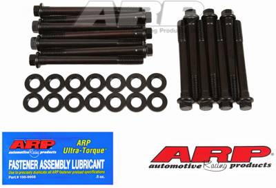 ARP - ARP1463603 - ARP High Performance Series Head Bolt Kit, Jeep 3.8L & 4.2L (232/258 cid) inline 6 with 4.0L head - 7/16? (two lengths), Hex Head