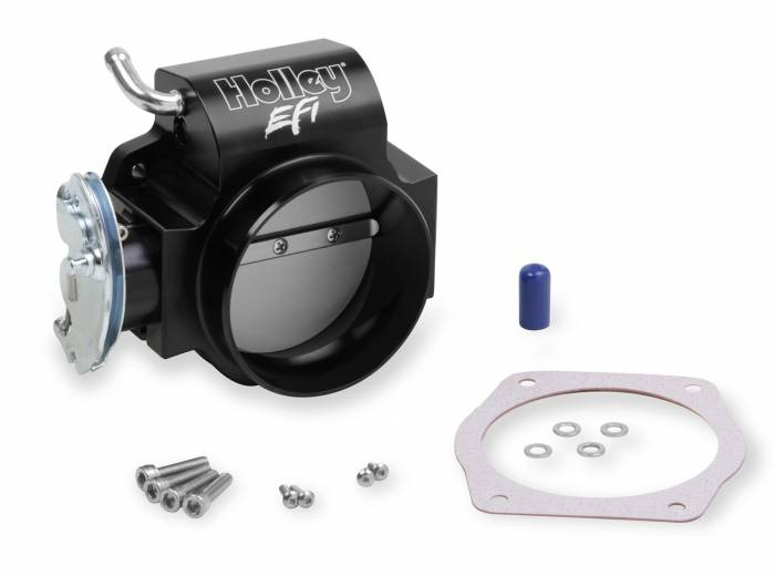 Holley Performance - HLY112-589 - Holley Performance Billet LS 90mm Thorttle Body w/cable drive and taper
