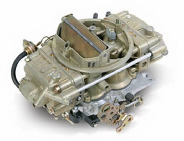 Holley Performance - HLY0-6210 - Holley Performance 650CFM Street Carburetor, Spreadbore, Divorced Choke, Mechanical Secondaries, Gold Dichromate
