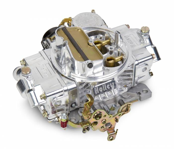 Holley Performance - HLY0-80508SA - Holley Performance 750CFM Street/Strip Carburetor, Electric Choke, Vacuum Secondaries, Polished Aluminum