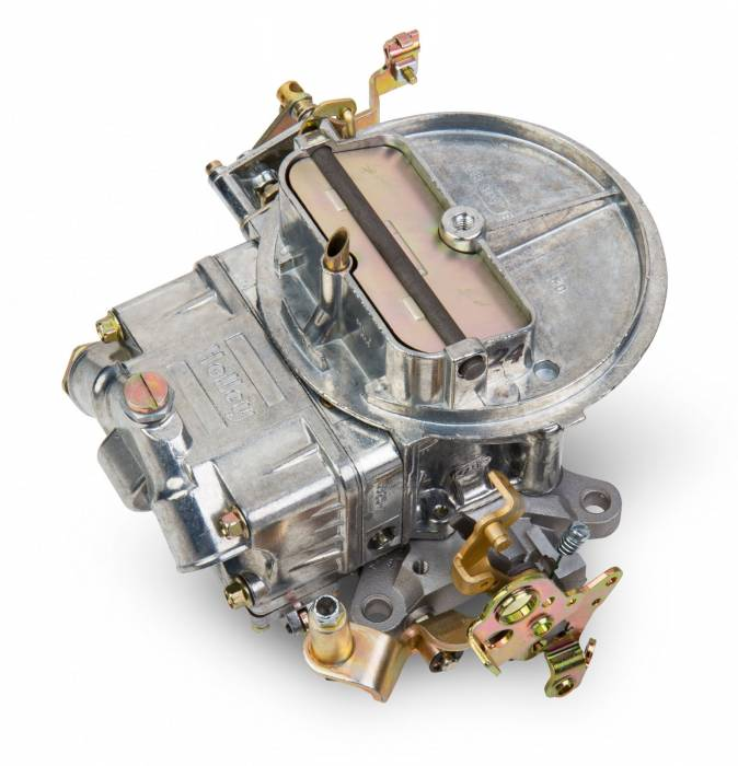 Holley Performance - HLY0-4412S - Holley 500CFM 2 Barrel Street Carburetor, Manual Choke, Shiny Finish