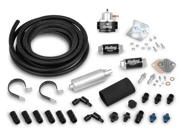 Holley Performance - HLY526-3 - Holley In-Line Fuel Pump System with Cartridge Filters