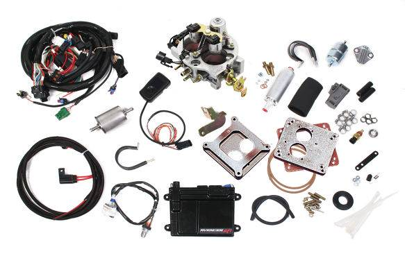 Holley Performance - HLY550-200 - Holley Avenger 670 CFM EFI 2BBLThrottle Body Fuel Injection System