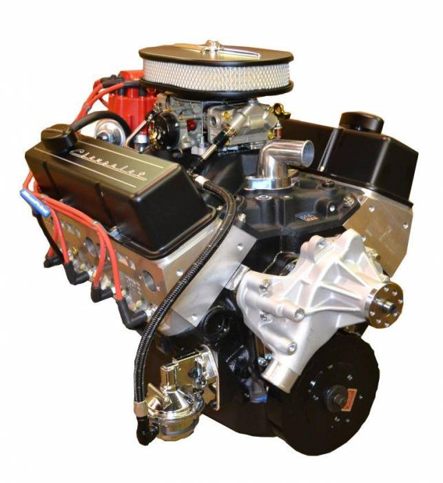 PACE Performance - BP35513CT1-2X - Pace SBC 355CID 390HP Crate Engine with Black Finish