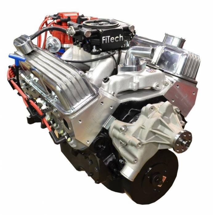 PACE Performance - GMP-T56BP383-3F - Pace SBC 383/430HP EFI Polished Trim Crate Engine with Tremec T56 6 Speed Trans Combo