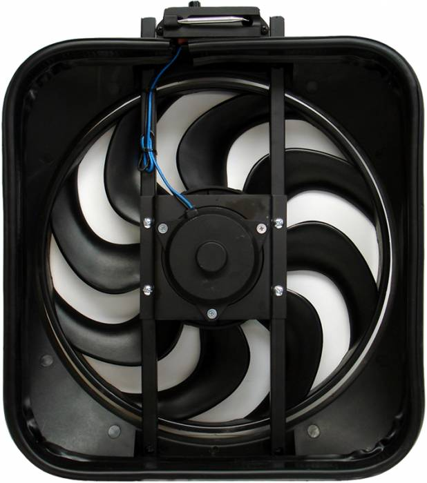 "Proform - 67028 - High Performance 15"" S-Blade Electric Fan with Thermostat, 87-93 Mustang 5.0L"