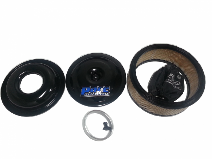 PACE Performance - PAC-10523AP Circle Track 14 X 5 Air Cleaner Package