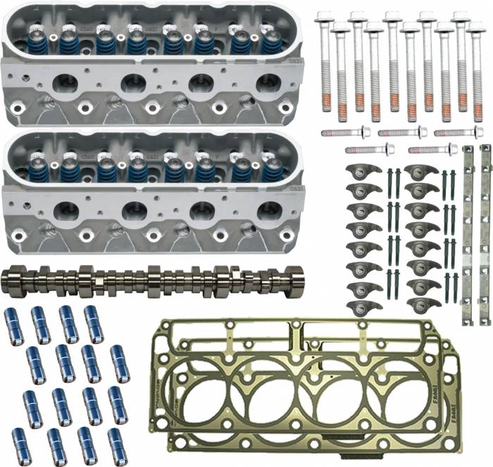 PACE Performance - GMP2713-3 - Pace Performance Deluxe LS3 Cylinder Head Package with GM Hot Cam