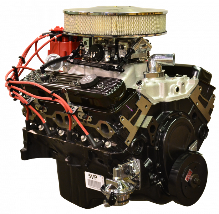 PACE Performance - GMP-10067353-V1X - Pace Prepped & Primed Chevy 350 350HP Turnkey Engine Package