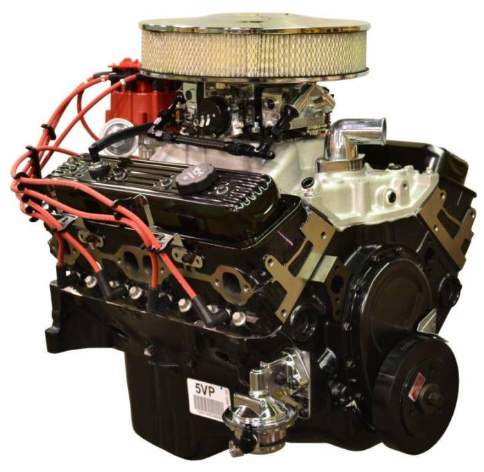 PACE Performance - GMP-T567353-VF - Pace Fuel Injected SBC 350 350HP  EFI Turnkey Engine with T56 6 Speed Trans Package