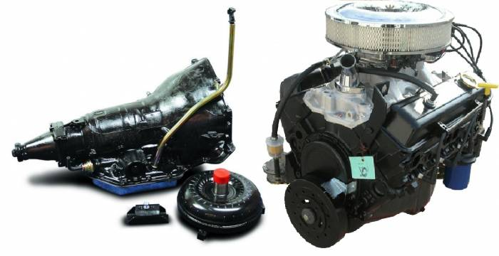 PACE Performance - GMP-TH3507353-1F -  Pace Fuel Injected SBC 350CID 260HP Turnkey EFI Engine with TH350 Transmission Package