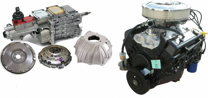 PACE Performance - GMP-TK67353-1 -  Pace SBC 350CID 260HP Turnkey Engine with TKO600 5-Speed Transmission Package