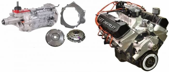 PACE Performance - GMP-T56ZZ427-F2X - Pace EFI ZZ427 505HP Engine with  T56 Trans Package