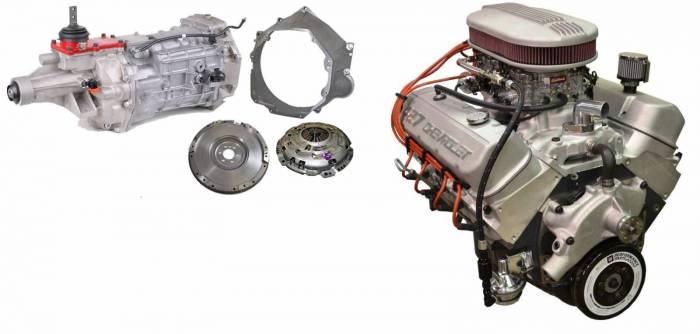 PACE Performance - GMP-T56ZZ427-4X - Pace Prepped & Primed ZZ427 505HP Dual Quad Engine with T56 Transmission Package