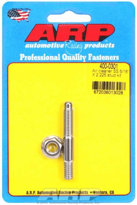"ARP - ARP4000301 - ARP Air Cleaner Stud-5/16"" X 2-1/4"" Stainless Steel"