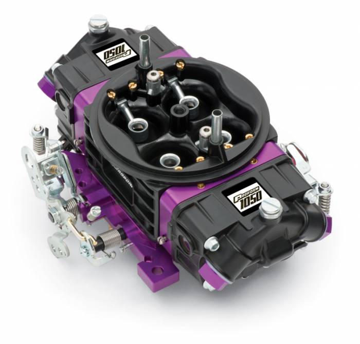 Proform - 67305 -?áProform?áBlack Race Series Carburetor; 1050 CFM, Mechanical Secondary, Black & Purple
