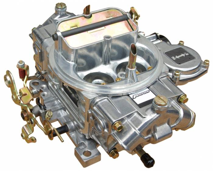 Proform - 67256 -Proform 650 CFM Polished Aluminum Street Carburetor with Electric Choke, Vacuum Secondary