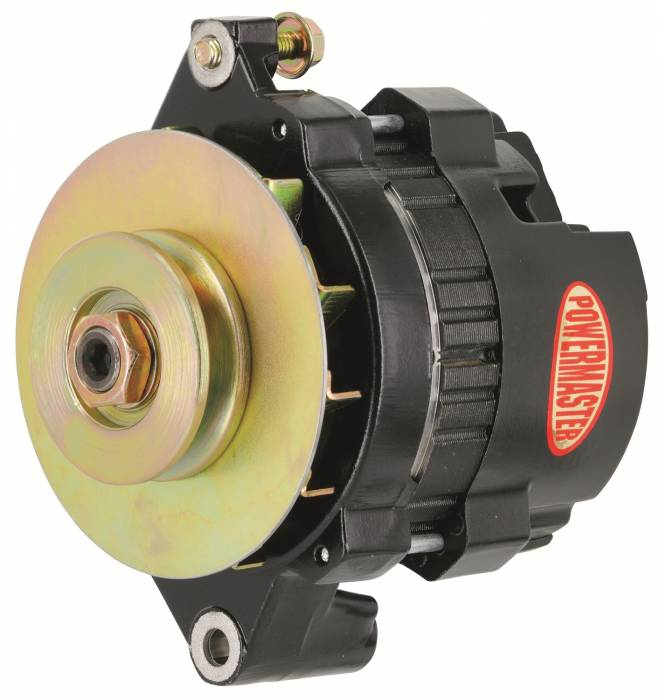 Powermaster - Powermaster GM 5X5 Race Alternator 8466-104
